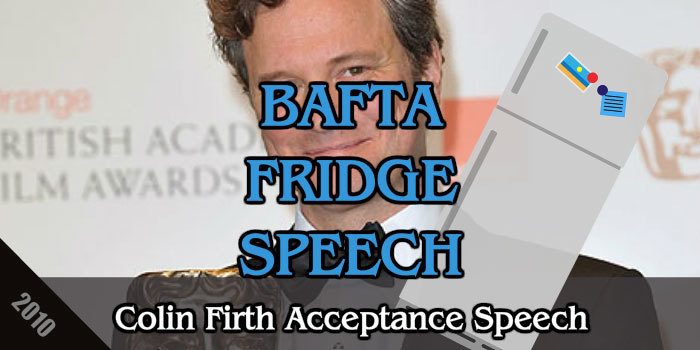 BAFTA fridge speech