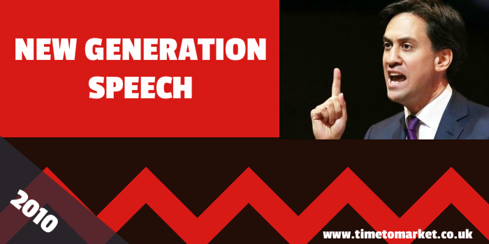 New generation speech