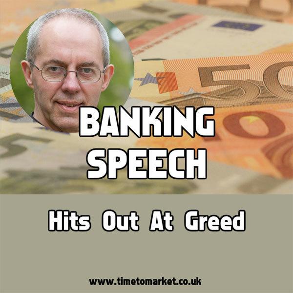 banking speech