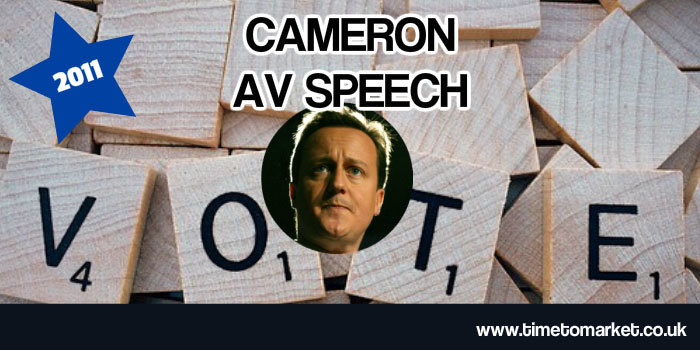 Cameron AV Speech