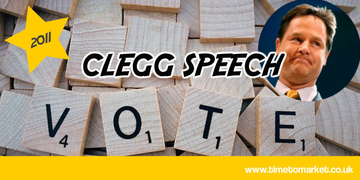Clegg speech