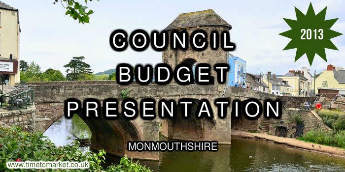 Council Budget presentation