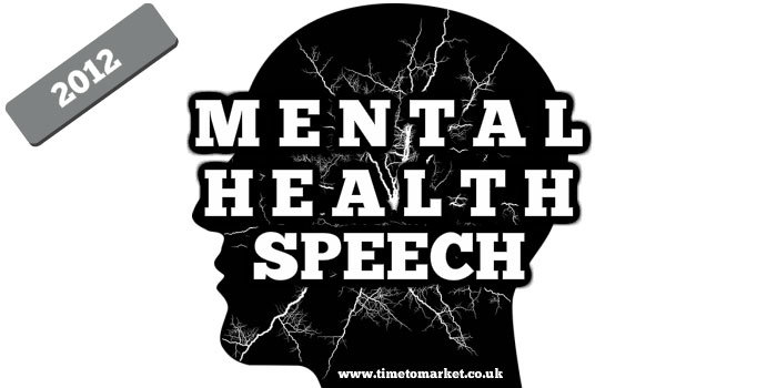 Mental health speech