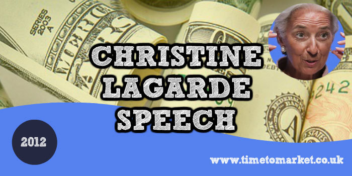 Christine Lagarde speech