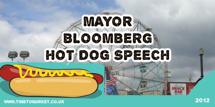 Hot dog speech