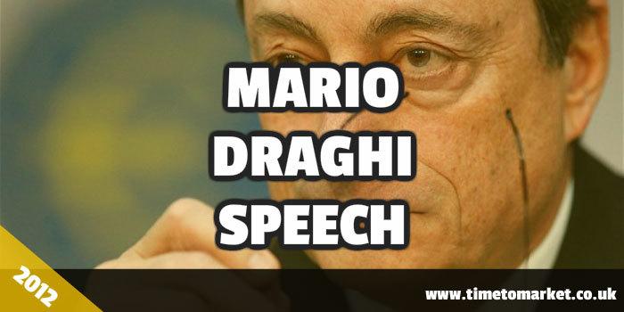 Mario Draghi speech