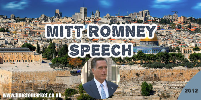 Mitt Romney speech