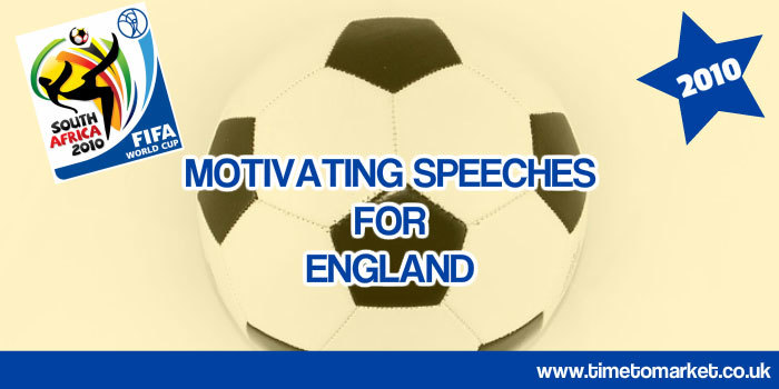 Motivating speeches for England