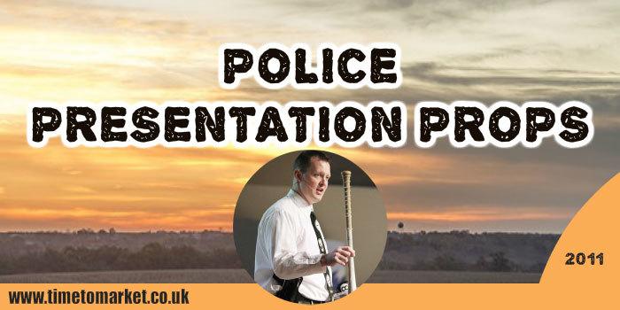 Police presentation props