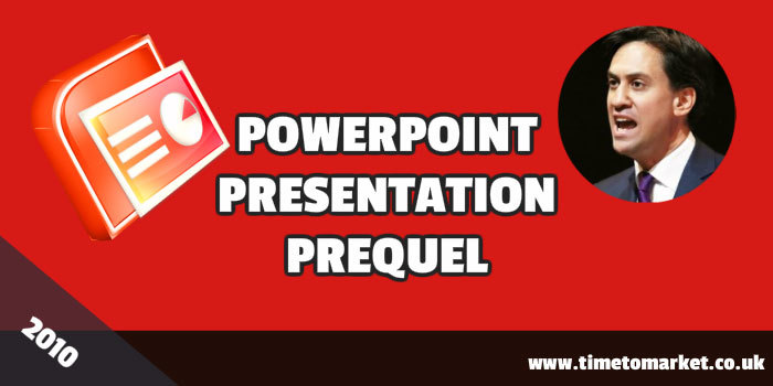 PowerPoint presentation prequel
