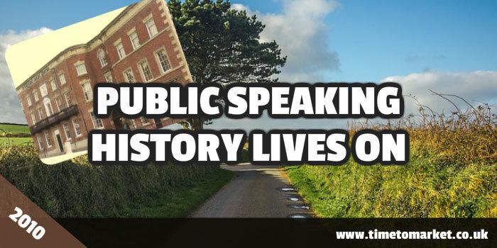 Public speaking history