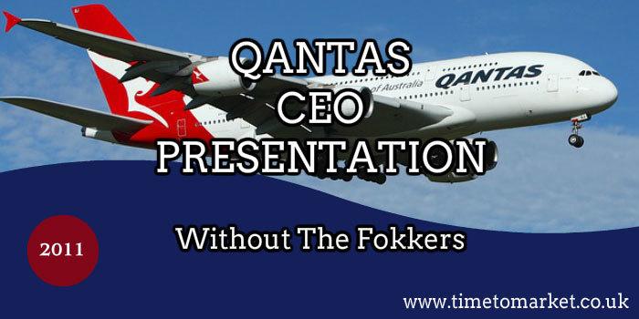 Qantas CEO presentation