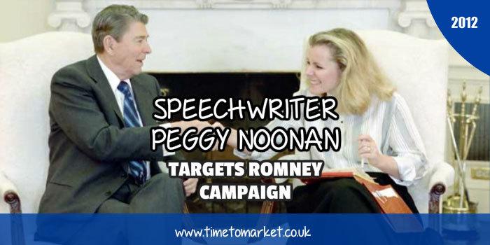 Speechwriter Peggy Noonan