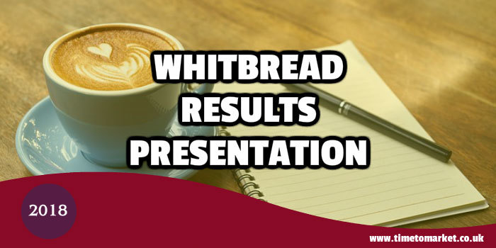 Whitbread results presentation