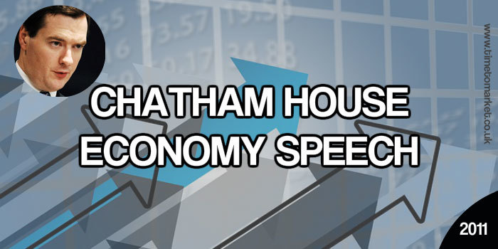 Chatham House Economy Speech