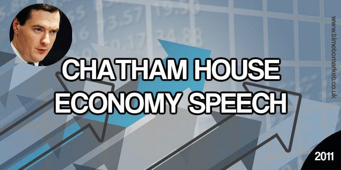 Chatham House Economy Speech