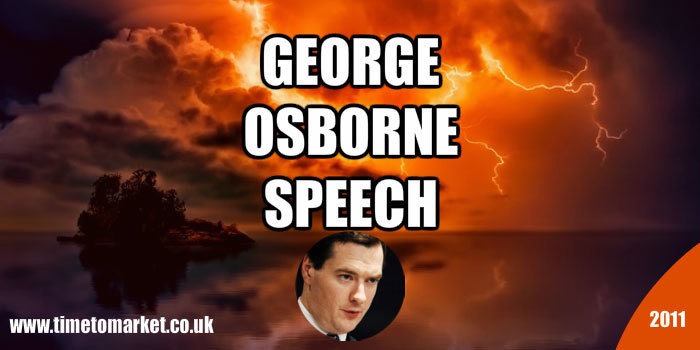 George Osborne speech