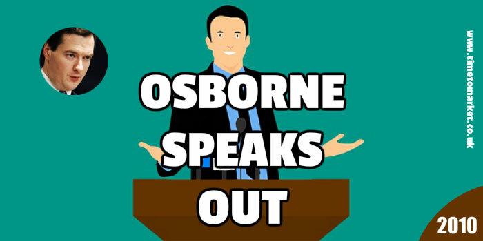Osborne speaks out