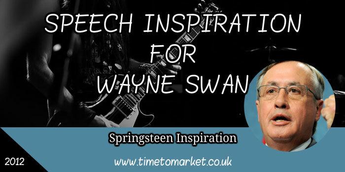 Speech inspiration idea