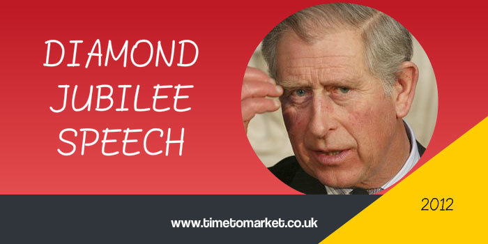 Diamond Jubilee Speech