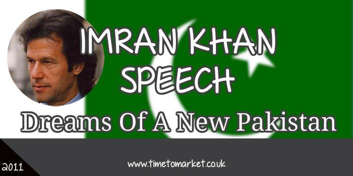 Imran Khan Speech