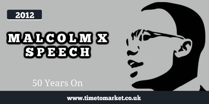 Malcolm X Speech