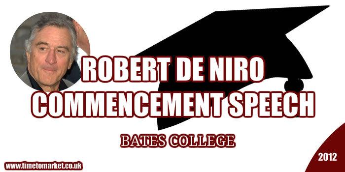Niro Commencement Speech