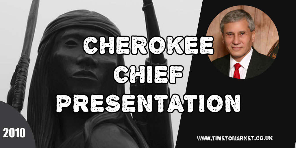 Cherokee chief presentation