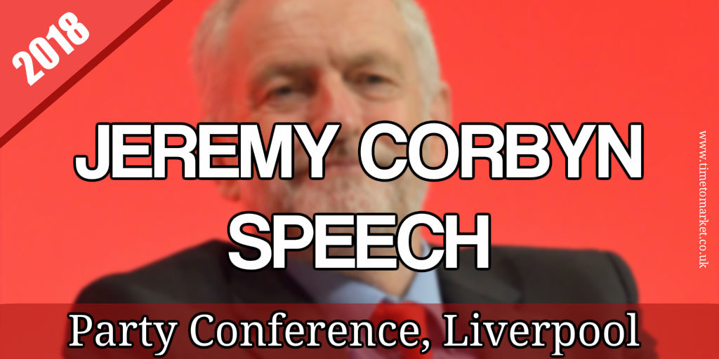 Corbyn speech