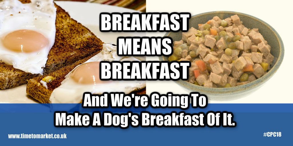 Dog's Breakfast Brexit Speech