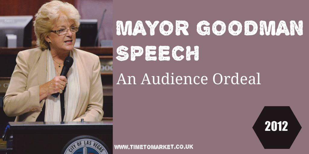 Mayor Goodman speech