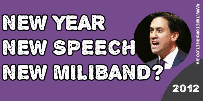 New speech