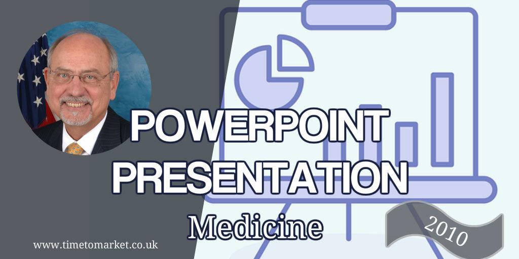 PowerPoint presentation medicine