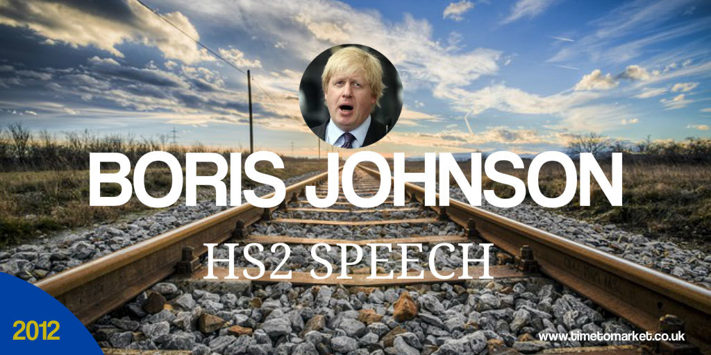Boris Johnson HS2 speech