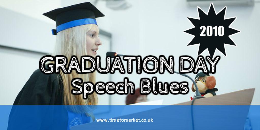 Graduation day speech
