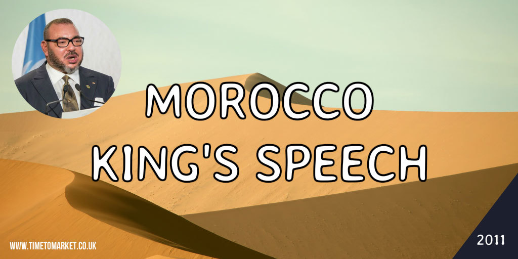 Morocco King's Speech
