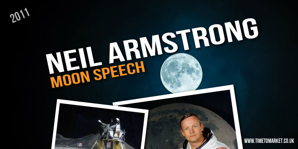 Neil Armstrong moon speech