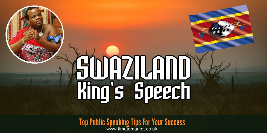 Swaziland King's Speech
