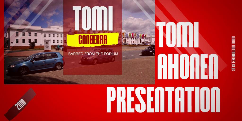 Tomi Ahonen presentation