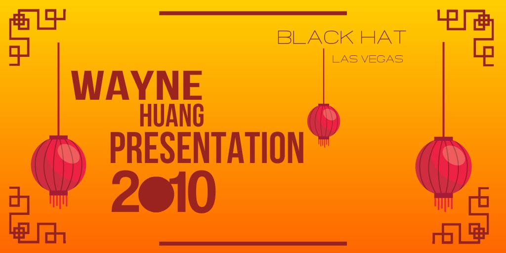 Wayne Huang presentation