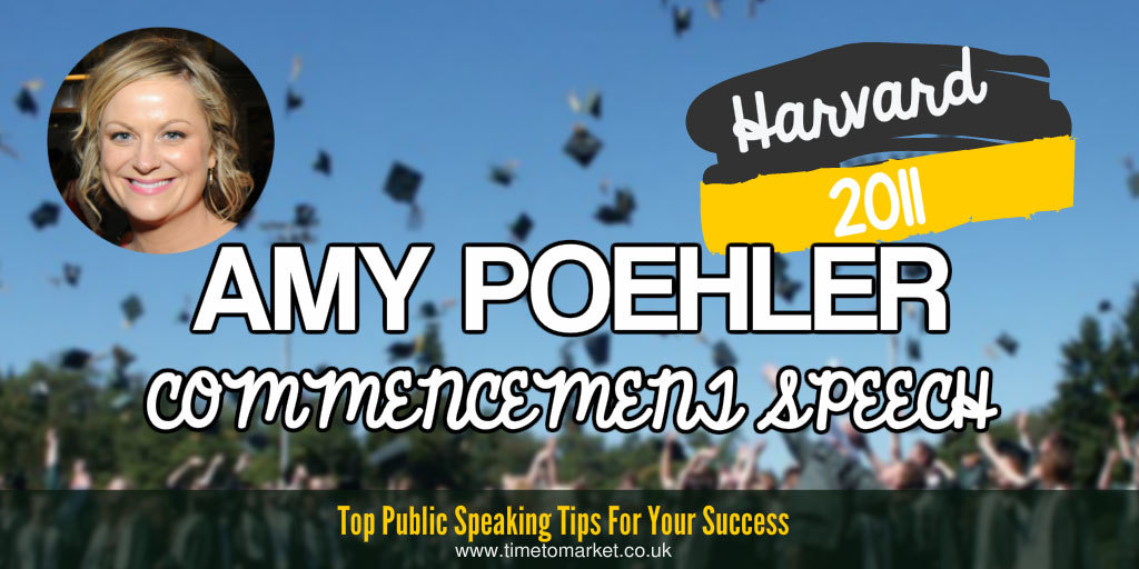 Amy Poehler commencement speech
