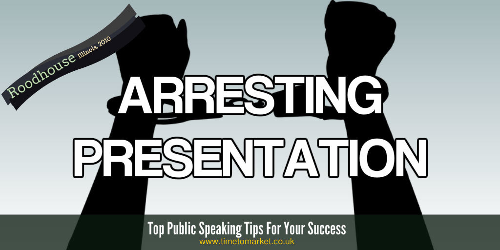 arresting presentation