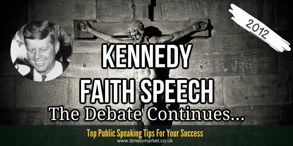 J.F. Kennedy faith speech