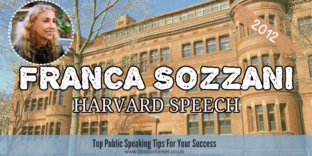 Sozzani harvard speech