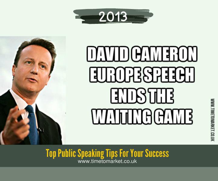 Cameron europe speech