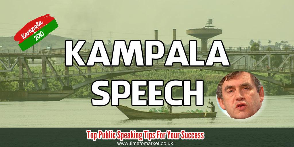 Kampala speech