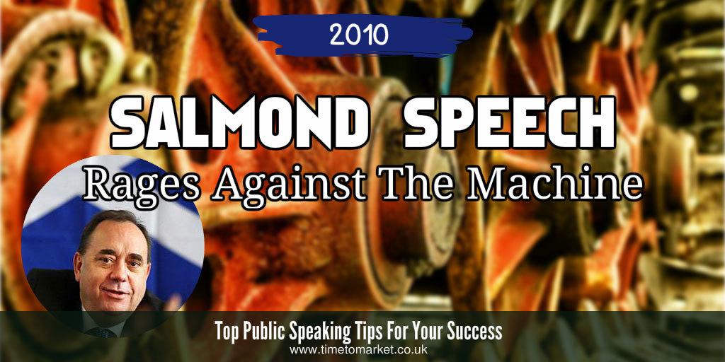 Salmond speech