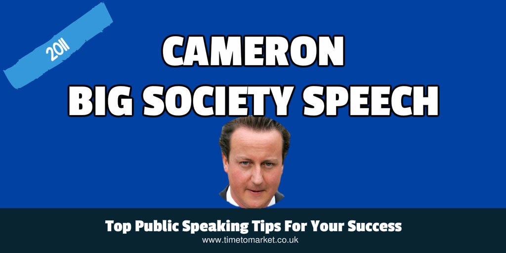 big society speech