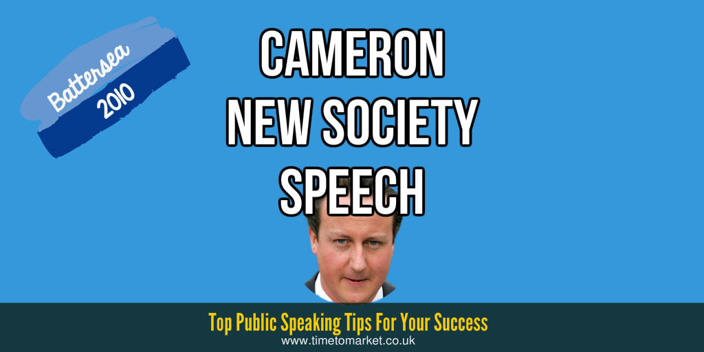 Cameron new society speech
