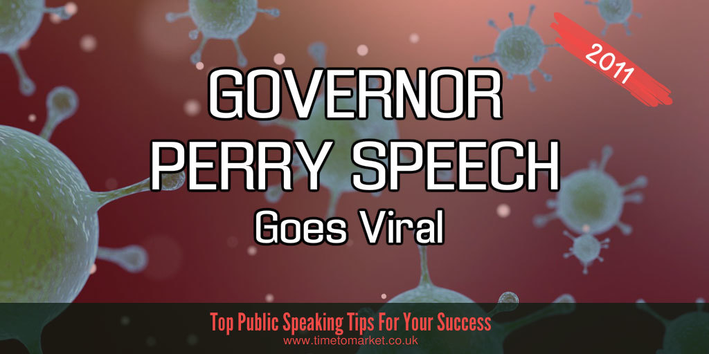 Governor perry speech